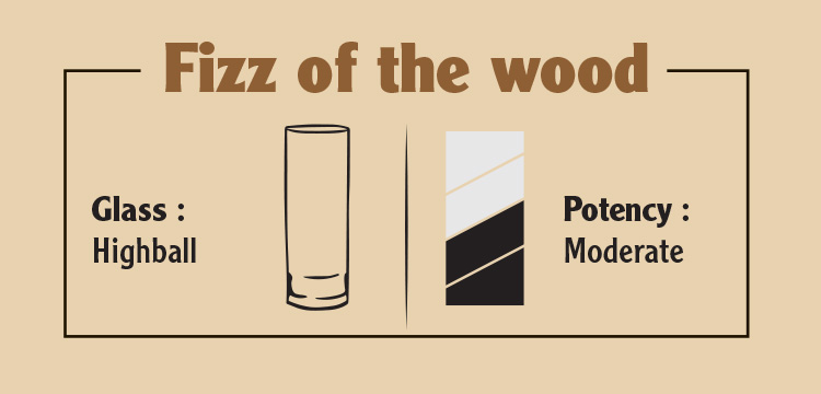 Sample Fizz of the wood