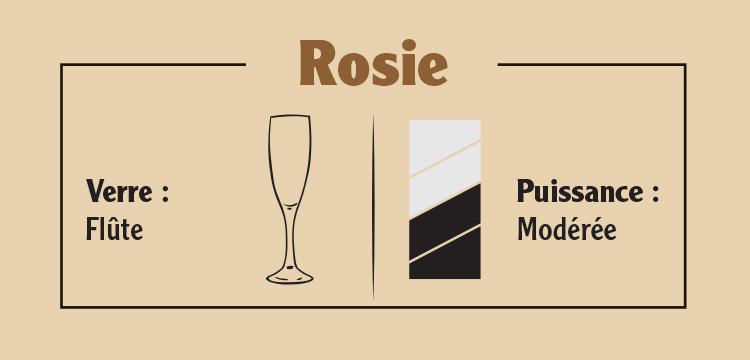 Échantillon Rosie